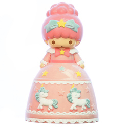 15261  sanrio little twin stars doll shaped hair brush   front