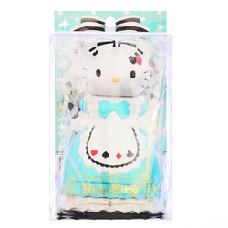 15260  sanrio hello kitty doll shaped hair brush   boxed