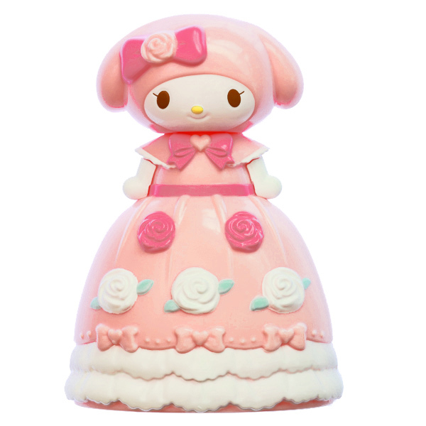 15259  sanrio my melody doll shaped hair brush   front %282%29