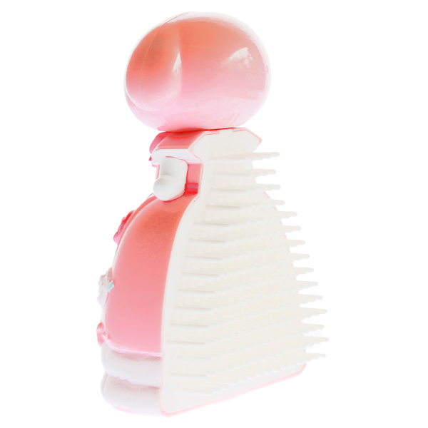 15259  sanrio my melody doll shaped hair brush   back %282%29