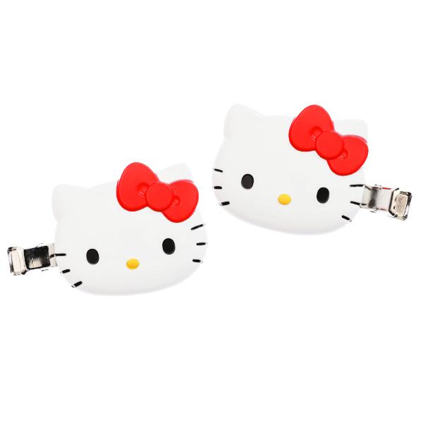 15257  sanrio hello kitty hair clip for fringe