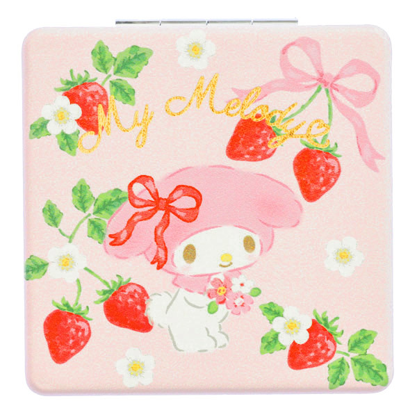 15251  sanrio my melody pocket 2 mirror compact   front