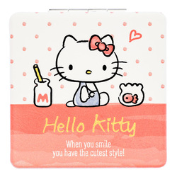 15250  sanrio hello kitty pocket 2 mirror compact   front
