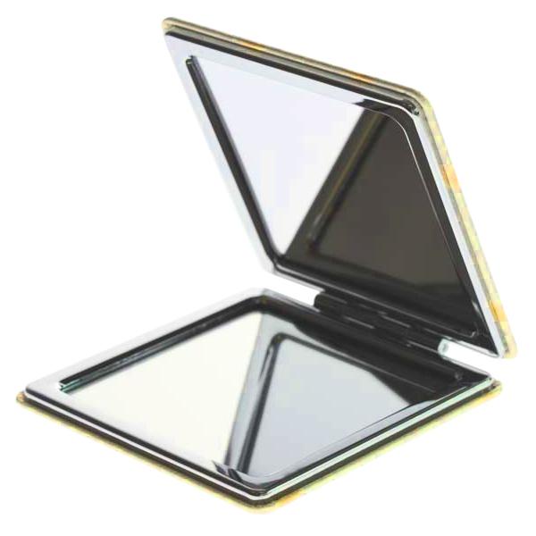 15249  sanrio pompompurin pocket 2 mirror compact   open