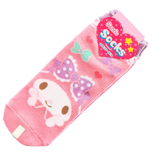15247  sanrio my melody unisex socks for adults