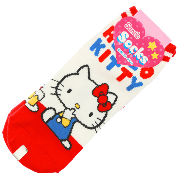 15244  sanrio hello kitty unisex socks for adults