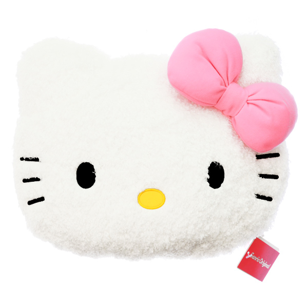 15238  sanrio hello kitty shaped pillow cushion   small   front