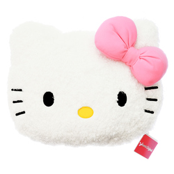 15238  sanrio hello kitty shaped pillow cushion   small   front