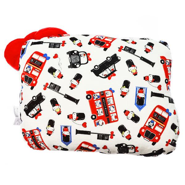 15237  sanrio hello kitty london bus shaped pillow cushion   back