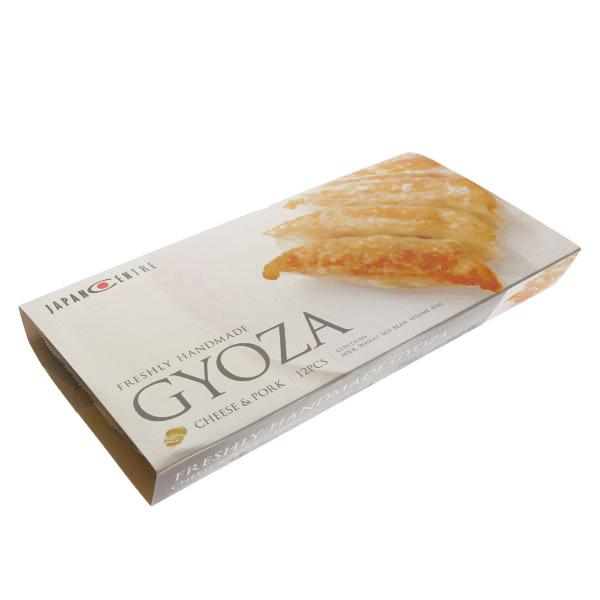 15362  japan centre freshly handmade frozen gyoza dumplings   cheese   pork   side