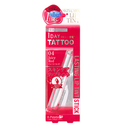 15299  k palette 1 day tattoo lasting lip tint stick   juicy red