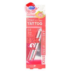 15298  k palette 1 day tattoo lasting lip tint stick   rose pink