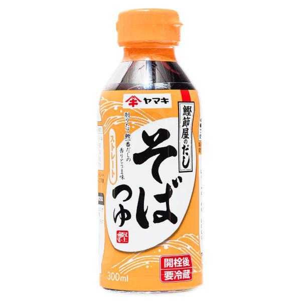 15414  yamaki ready to use tsuyu noodle soup base for soba