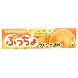 15399  mikakuto puccho prince kiyomi orange chewy candy