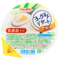 15329  bourbon aloe flavoured yoghurt jelly dessert