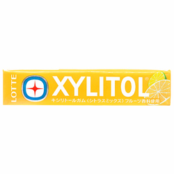 15326  lotte xylitol citrus mix chewing gum