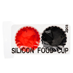 15487  hakoya silicon food cups   round   sealed