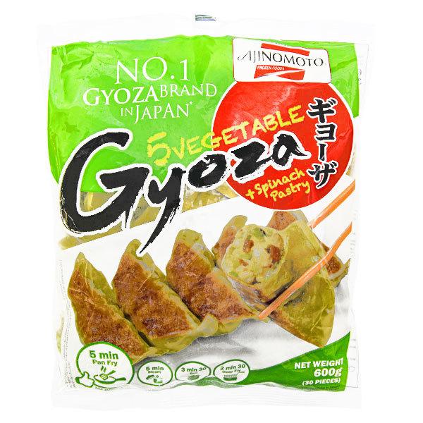 15480  frozen ajinomoto vegetable gyoza with spinach pastry
