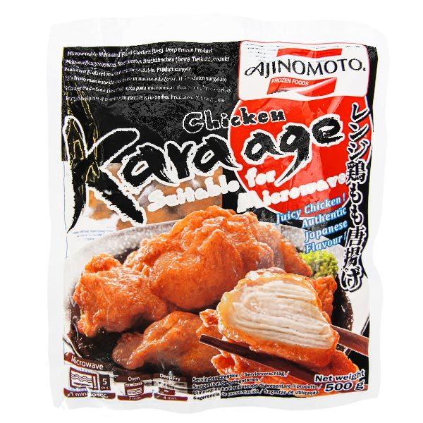 15477  frozen ajinomoto karaage japanese fried chicken
