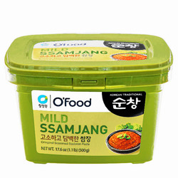 15463  o'food mild ssamjang seasoned soybean paste for meats