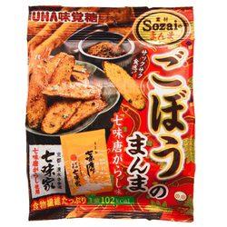 15445  mikakuto shichimi togarashi seasoned gobo burdock root snack