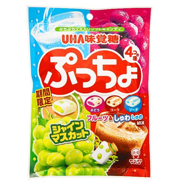 15441  mikakuto puccho asst. flavour chewy candy