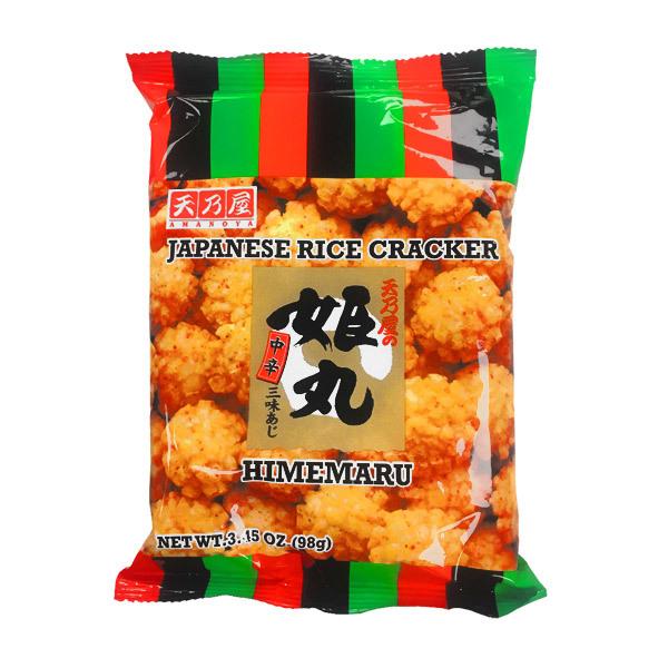 445  amanoya corp medium hot spiced rice crackers