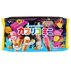15523  glico caplico wafer cone share pack   halloween edition