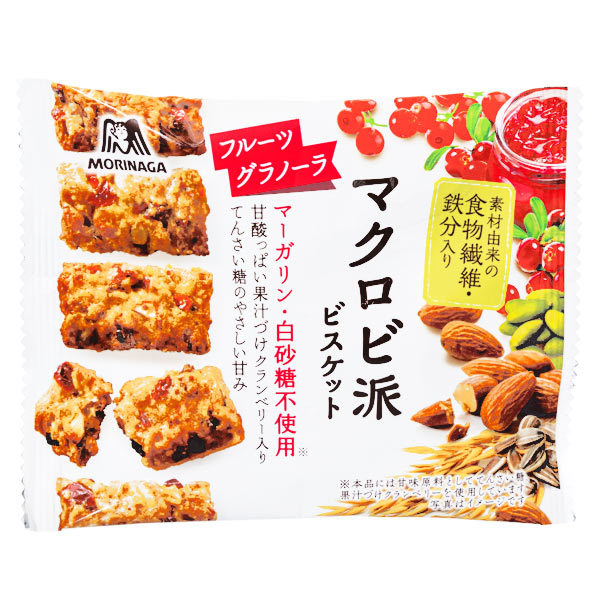 15528  morinaga macrobiotic fruit granola biscuits