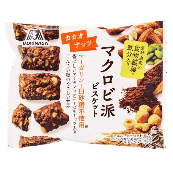 15529  morinaga macrobiotic cacao and nuts biscuits
