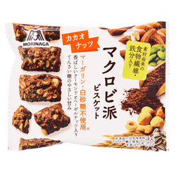 15529  morinaga macrobiotic cacao and nuts biscuits