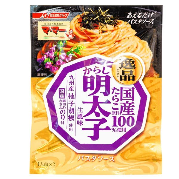 15553  nissin ma maa pasta sauce   spicy mentaiko cod roe