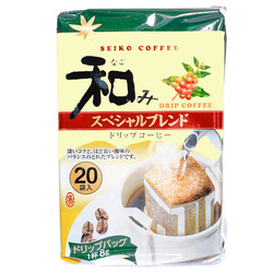 15555  seiko coffee nagomi special blend drip filter bag coffee