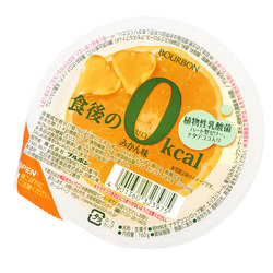 15558  bourbon zero calorie satsuma orange flavoured dessert jelly