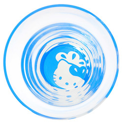 15568  sanrio hello kitty tulip shape drinking glass   above