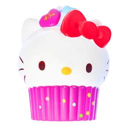 15569  sanrio hello kitty 45th anniversary cupcake shaped stress ball squishie   pink   pink %282%29