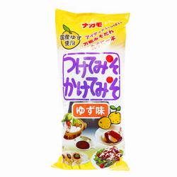 15581  nakamo yuzu flavoured miso sauce for dipping and pouring