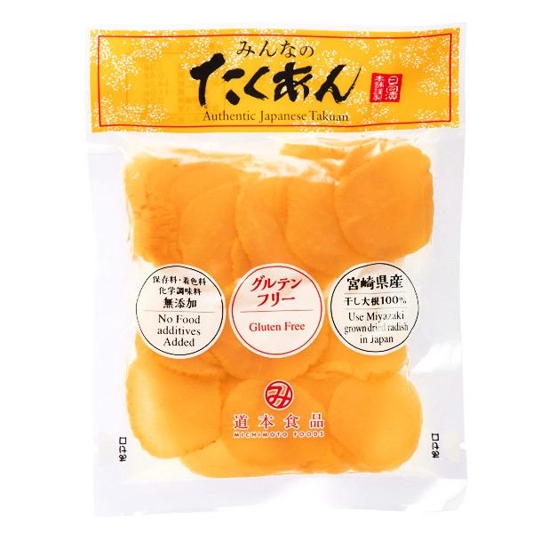 15606  michimoto foods sliced pickled takuan daikon radish