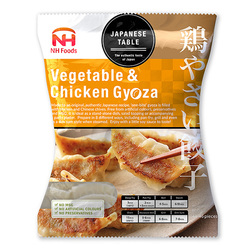 Nhf vegetable chicken gyoza