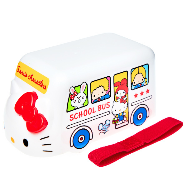 15655  sanrio hello kitty sanrio characters bento bus lunch box with belt