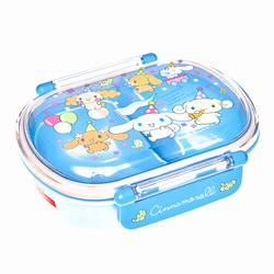 15657  sanrio cinnamoroll bento lunch box with clips   party design  blue