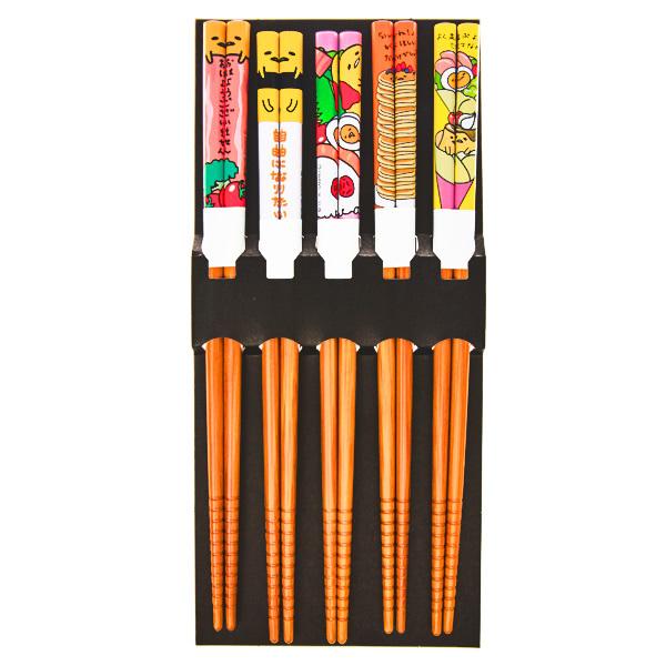 15658  sanrio gudetama chopstick set