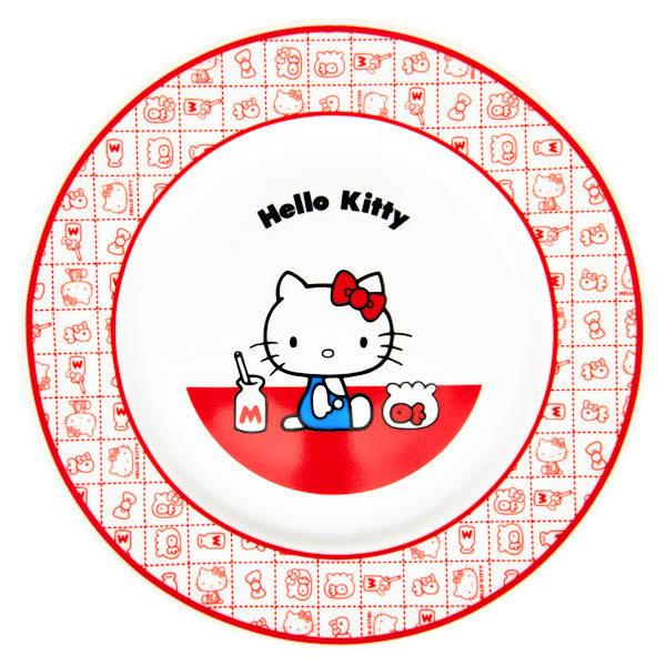 15671  sanrio hello kitty kanesho ceramic serving plate