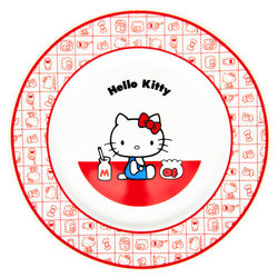 15671  sanrio hello kitty kanesho ceramic serving plate