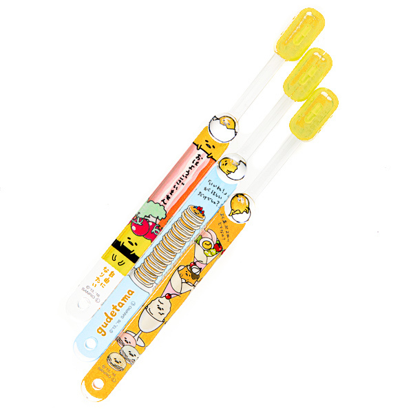 15674  sanrio gudetama children's toothbrush set