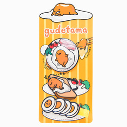 15678  sanrio gudetama hair accesory set   gudetama breakfast   packaged