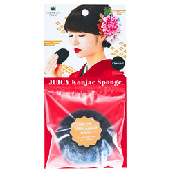 15681  yamamoto farm corporation juicy konjac facial sponge   charcoal