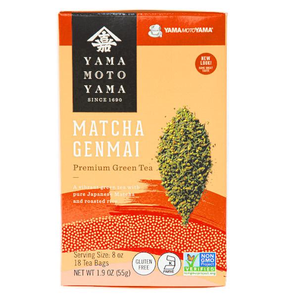 15684  yamamotoyama matcha genmai premium green tea