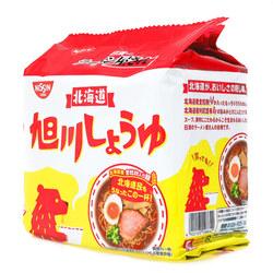 15688  nissin asahikawa soy sauce ramen noodles   angle