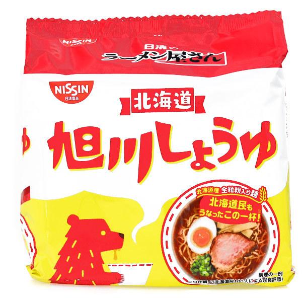 15688  nissin asahikawa soy sauce ramen noodles